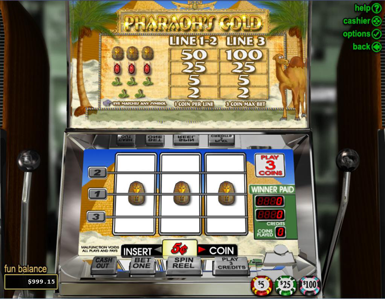 Pharaon's Gold Slot