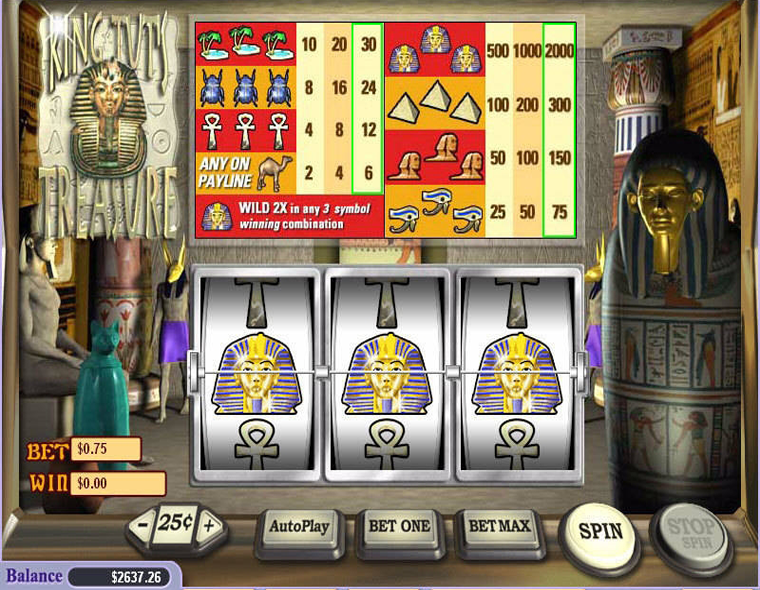 King Tut's Treasure Slot